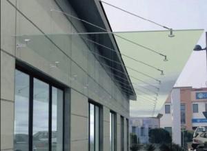 HB Bauelemente Glasvordach 8