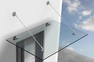 HB Bauelemente Glasvordach 2
