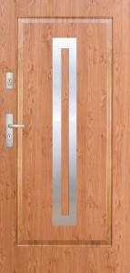 Tür mit Applikation Beispiel 02