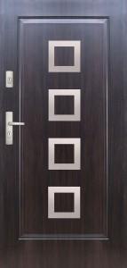 Tür mit Applikation Beispiel 05