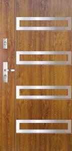 Tür mit Applikation Beispiel 11