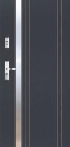 Tür mit Applikation Beispiel 12
