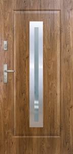 Tür mit Inox und Duo-Color Beispiel 02