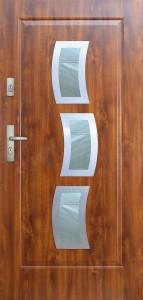 Tür mit Inox und Duo-Color Beispiel 04