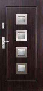 Tür mit Inox und Duo-Color Beispiel 05