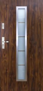 Tür mit Inox und Duo-Color Beispiel 07