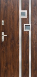 Tür mit Inox und Duo-Color Beispiel 08