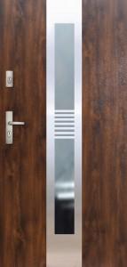Tür mit Inox und Duo-Color Beispiel 10