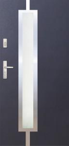 Tür mit Inox und Duo-Color Beispiel 11