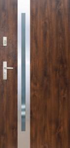 Tür mit Inox und Duo-Color Beispiel 14