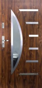 Tür mit Inox und Duo-Color Beispiel 16