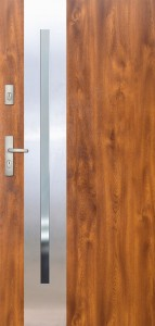 Tür mit Inox und Duo-Color Beispiel 18