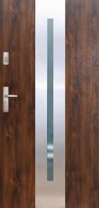 Tür mit Inox und Duo-Color Beispiel 19