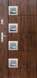 Tür mit Inox und Duo-Color Beispiel 25