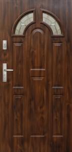 Tür mit Prägung verglast Beispiel 04