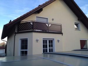Balkon Rahmenbauweise Beispiel 05