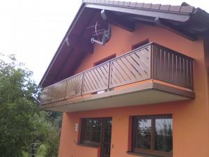 Balkon Rahmenbauweise Beispiel 04