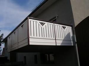 Balkon Rahmenbauweise Beispiel 03