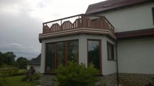 Balkon Rahmenbauweise Beispiel 02