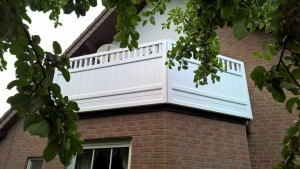 Balkon Rahmenbauweise Beispiel 01